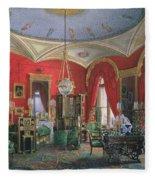 Interior Of The Winter Palace Fleece Blanket