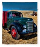 International Farm Truck Fleece Blanket