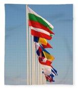 International Flags Nisyros Fleece Blanket