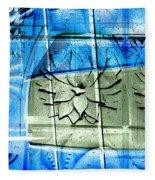 Interstate 10- Exit 258- Broadway Blvd / Congress St Underpass- Rectangle Remix Fleece Blanket