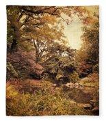 Intimate Landscape Fleece Blanket