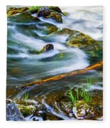 Intimate With River Fleece Blanket