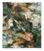 Into The Canyon Fleece Blanket