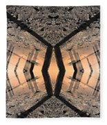 Into The Core Fleece Blanket