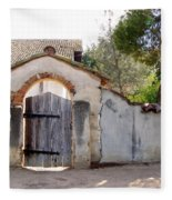 Into The Light, Mission San Miguel Archangel, California Fleece Blanket