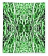 Into The Matrix Fleece Blanket