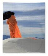 Into The Mystic 4 Fleece Blanket