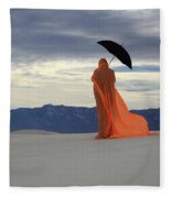Into The Mystic 5 Fleece Blanket
