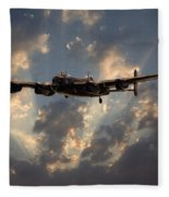 Into The Night Fleece Blanket