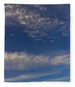 Into The Sky Fleece Blanket