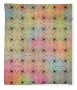 Intricacy Digital Seamless Design Fleece Blanket