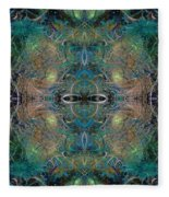 Intrigue Of Mystery Four Of Four Fleece Blanket