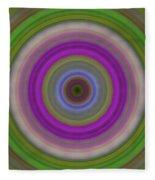 Introspection - Energy Art By Sharon Cummings Fleece Blanket