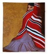 Introspection Fleece Blanket