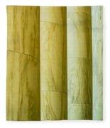 Ionic Architectural Columns Details Fleece Blanket