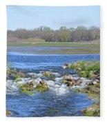 Iowa Has Its Beauty Fleece Blanket