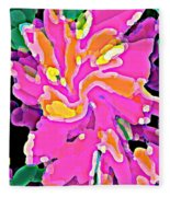 Iphone Cases Colorful Flowers Abstract Roses Gardenias Tiger Lily Florals Carole Spandau Cbs Art 183 Fleece Blanket