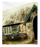 Ireland Church Xiv Fleece Blanket