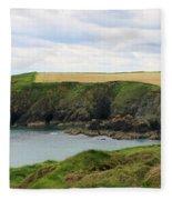 Ireland Coast Panorama Fleece Blanket