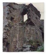 Ireland Minard Castle Ruins By Jrr Fleece Blanket