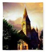 Ireland St. Brendan's Cathedral Fleece Blanket