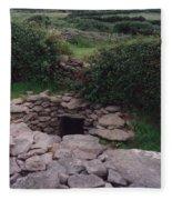 Ireland Time Traveler's Portal Fleece Blanket
