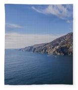 Irelands West Coast - Sleive League Fleece Blanket