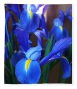 Iris 2 Fleece Blanket