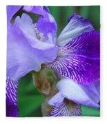 Iris 30 Fleece Blanket