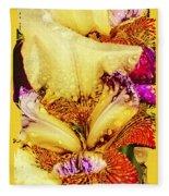 Iris - Customized Fleece Blanket