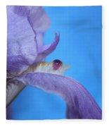 Iris Gem Fleece Blanket