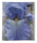 Iris Heart Fleece Blanket