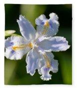 Iris Pacifica Fleece Blanket