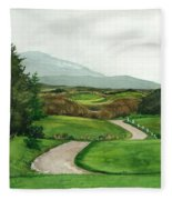Irish Greens Fleece Blanket