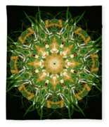 Irish Influence 3 Fleece Blanket