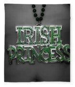 Irish Princess Fleece Blanket