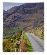 Irish Road Fleece Blanket
