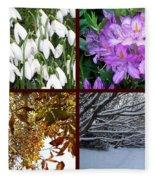 Irish Seasons Fleece Blanket