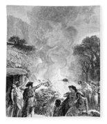 Iron Age, Funeral Ceremony Fleece Blanket