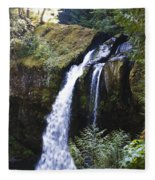 Iron Creek Falls Fleece Blanket