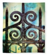 Iron Gate Detail Fleece Blanket