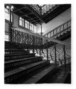 Iron Staircases Fleece Blanket