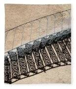 Iron Stairs Shadow Fleece Blanket