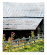 Ironweed Fenceline Fleece Blanket