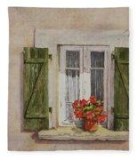 Irvillac Window Fleece Blanket