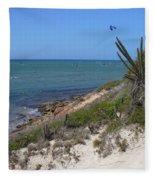 Isla Cubagua  Fleece Blanket