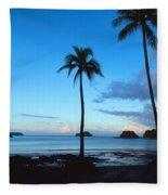 Isla Secas Fleece Blanket