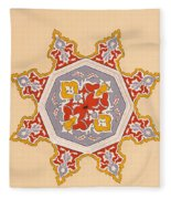 Islamic Art Fleece Blanket