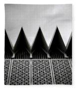 Islamic Geometry Fleece Blanket