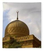 Islamic Mosque 05 Fleece Blanket